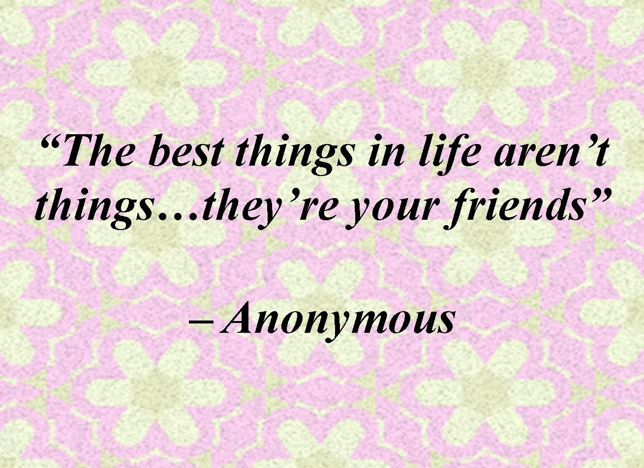 friendship flower quotes