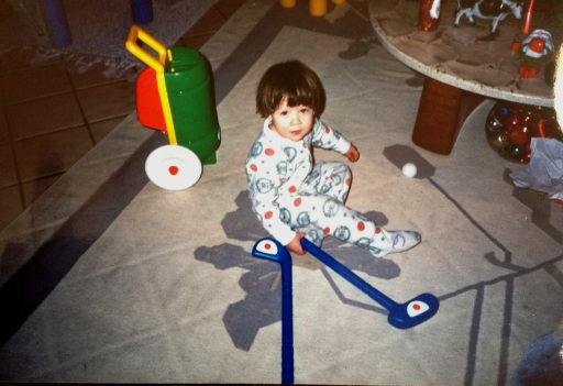 Ryan little boy_ Golf