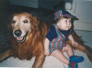 Ryan & Golden Retriever