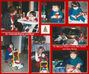 Ryan's 1st Christmas Collage
