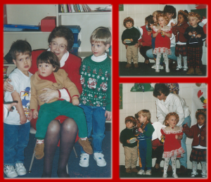 Ryan's 2nd Christmas Play Collage