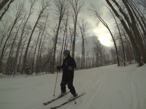 Ryan skiiing 1.2014