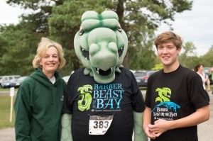 Maureen & Ryan with Beast