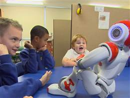 Nao Robot helps children with Autism