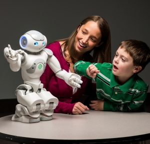 Robot, Child & Teacher