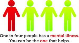 1 in 4 mental illness