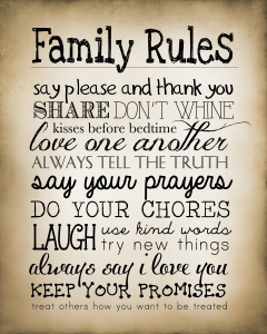 Rules - Family