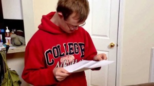 Down syndrome gets accepted into college