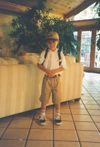 Ryan on his first day of kindergarten at Grandview Elementary.