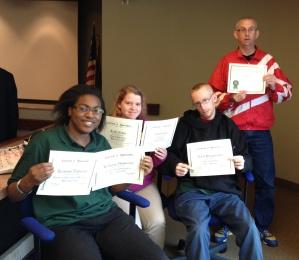 TWS Employee Award Winners