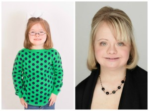 Grace and actress Lauren Potter.