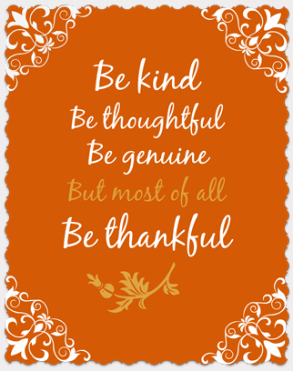 BeThankful-Poster