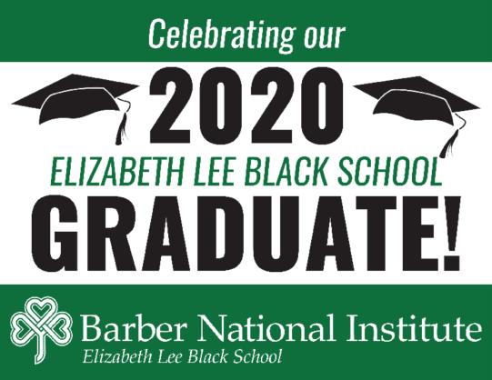 ELBS Graduation Sign 2020